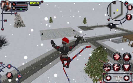 Christmas Rope Hero 3 screenshot 685375