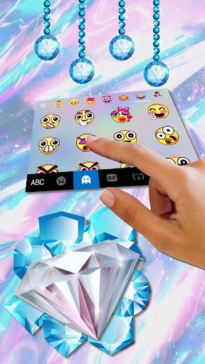 Shining Diamond Keyboard Theme cheat hacks