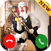 A call from killer clown prank