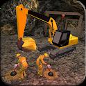Gold Mine Construction Zone 3D icon