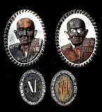 เหรียญหล่อมหาสมปราณาเกลียวเชือก หลวงปู่เเสน 109 ปี