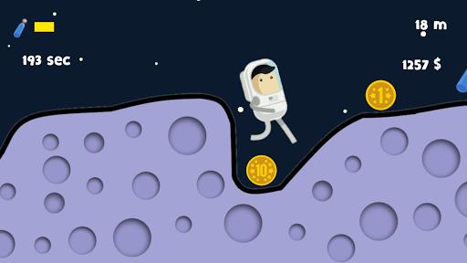 Hill Moon Running android2mod screenshots 3