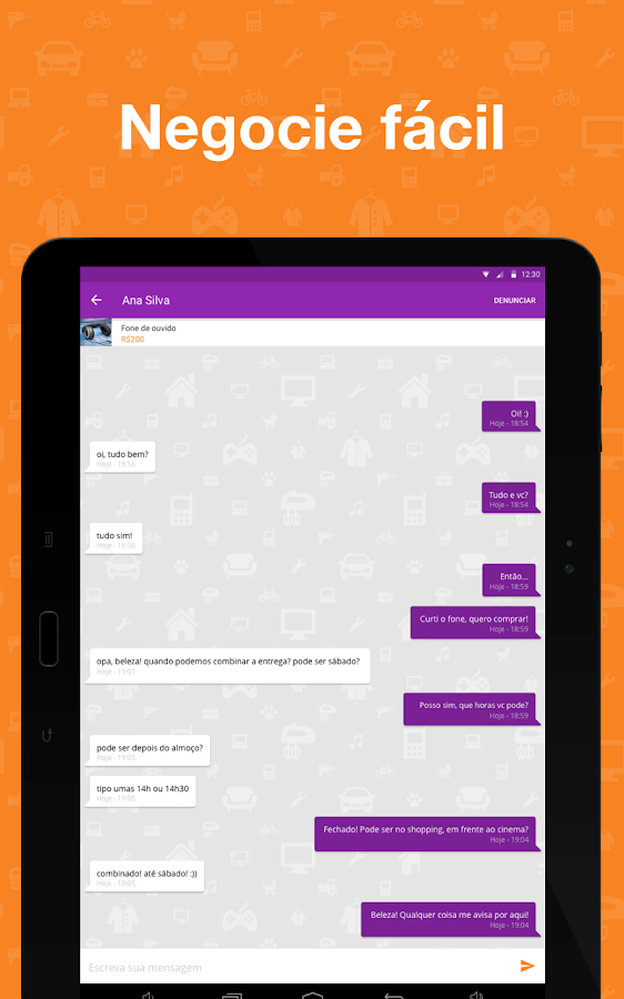Screenshots of OLX Brasil - Comprar e Vender for Android