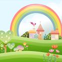 Cute Village Live Wallpaper icon