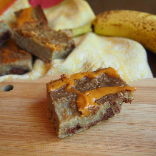 Banana Oat Bites with Peanut Butter and Chocolate {The Recipe Redux}