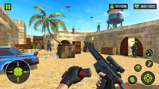 Download Counter Terrorist Special FPS Battle Game For PC Windows and Mac apk screenshot 1