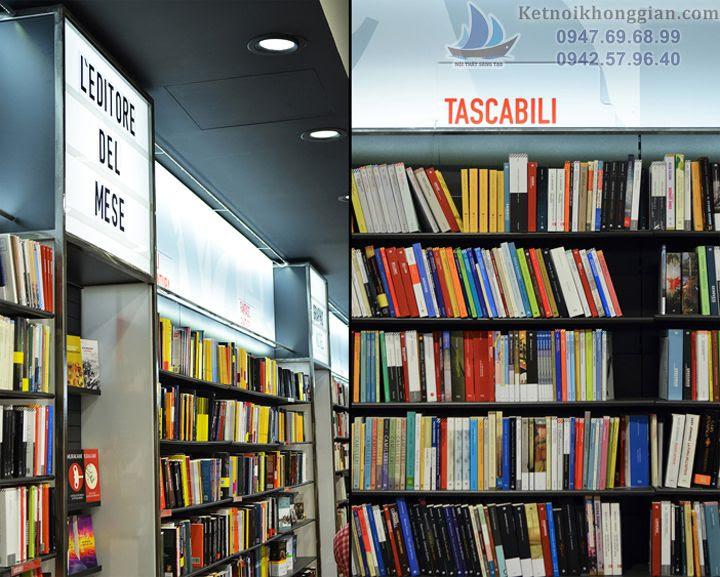 thiết kế nội thất nhà sách chất lượng uy tín