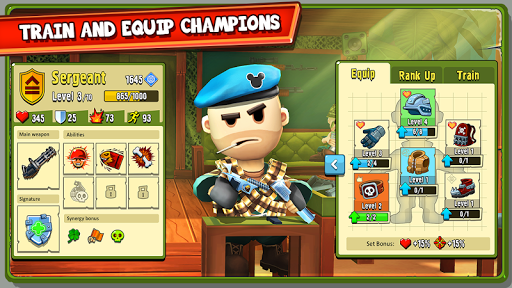 The Troopers: minions in arms screenshot 1