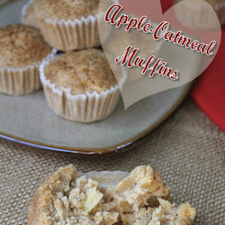 Apple Oatmeal Muffins Recipe (gluten-free)