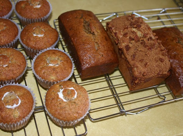 Banana Bread/muffin Heaven Recipe