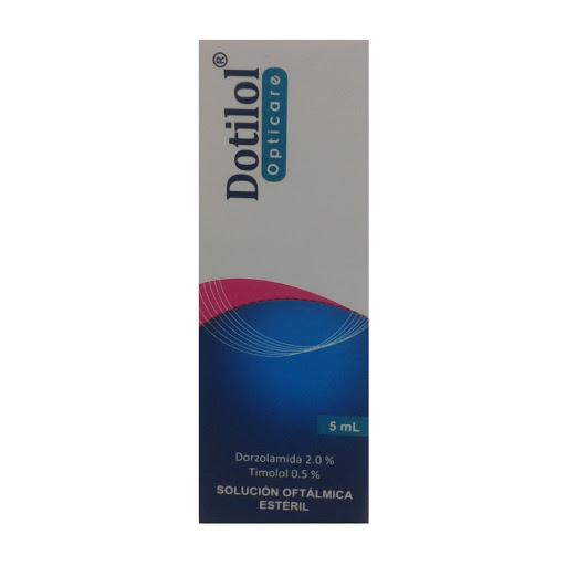 Dorzolamida + Timolol Dotilol 2%-0,5% 5ml