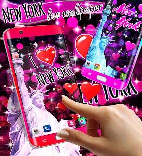 New York live wallpaper - náhled