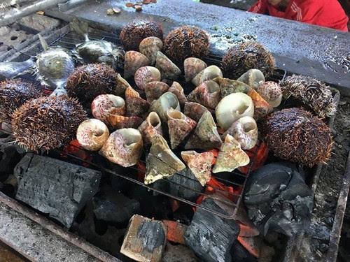 Du lịch Vịnh Vĩnh Hy thưởng thức bữa tiệc ốc biển 5