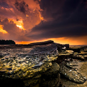Sunset In Mars by Johari Nasib - Landscapes Weather