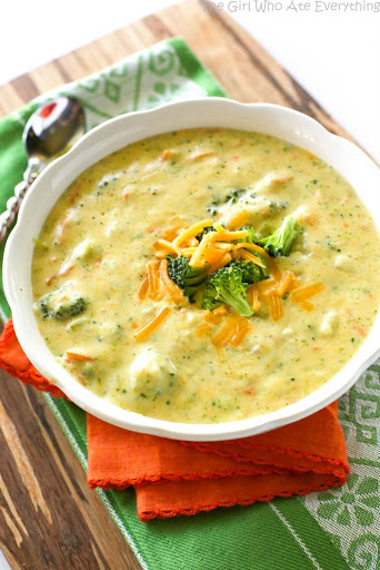 Paneras Broccoli Cheddar Soup