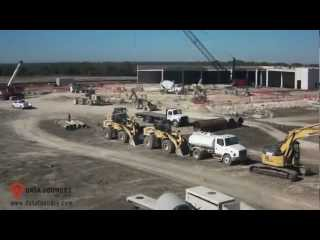 Video: Time lapse video of Data Foundry's construction of Texas 1 - its carrier-neutral, 250,000 SF data center located at the 40 acre Data Ranch development in Austin, TX.