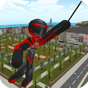 Game Stickman Rope Hero APK for Windows Phone