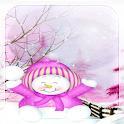 Christmas Snowman L Wallpaper icon