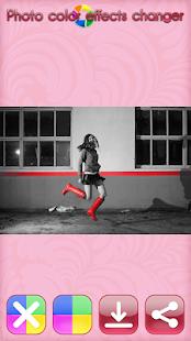 Foto barevné efekty měnič - náhled