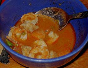 Photo: Zupa z krewetek, piersi indyka i warzyw (56)