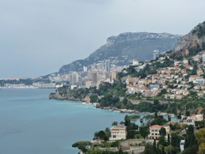 Photo: View of Monaco in the distance