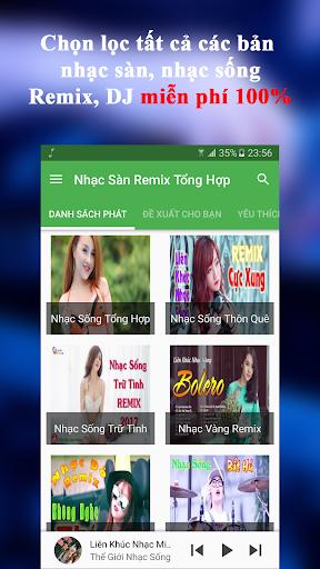 Nghe Nhạc Sàn Tổng Hợp - Remix DJ Nonstop Apps (apk) free download for Android/PC/Windows screenshot