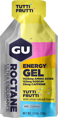 GU Roctane Energy Gel: Tutti Frutti, Box of 24 alternate image 0