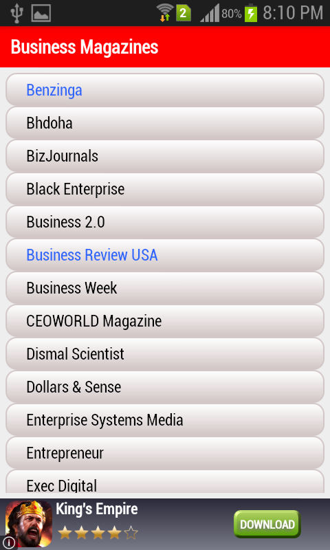 Top Magazines- screenshot