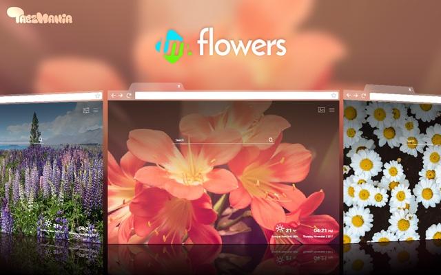 Garden Flowers HD Wallpapers New Tab
