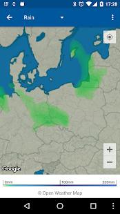 Transparent clock & weather Screenshot 14