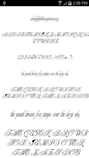 Fonts for FlipFont Love Fonts 4.0.4 screenshots 6