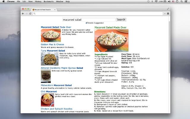 google docs recipe template