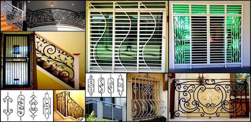 Home Grill Window Trellis Design Metal Door Ideas Apps