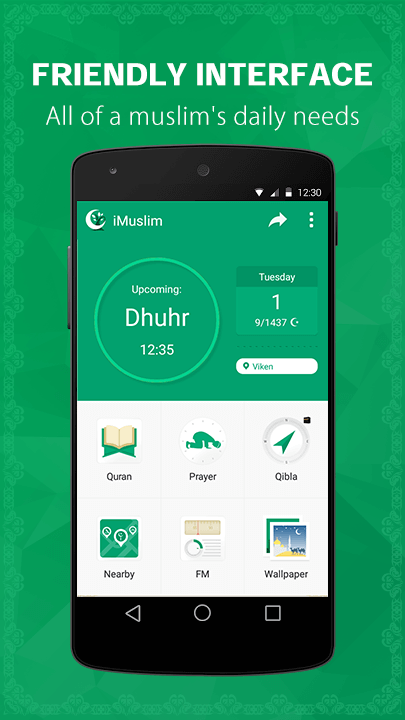 iMuslim Quran Azan Prayer time- screenshot