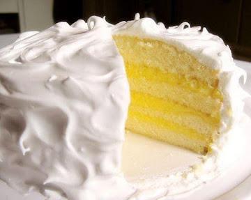 Princess White Cake With Pineapple & Lemon Filling Recipe