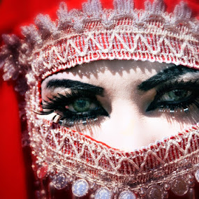:: Mysterious Eyes :: by Andi Ilham - People Portraits of Women