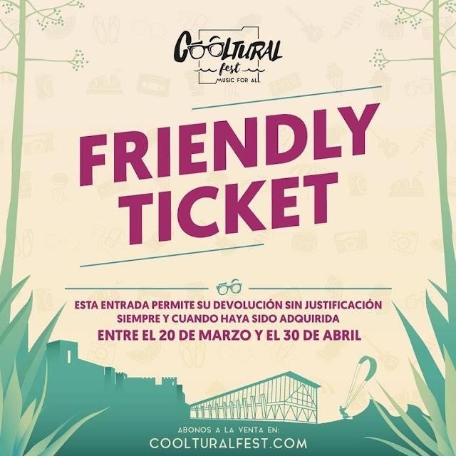 El festival almeriense pone en marcha la iniciativa Friendly Ticket.