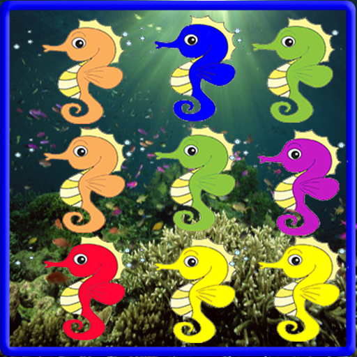 海の馬のマッチ3ゲーム 休閒 App LOGO-APP試玩
