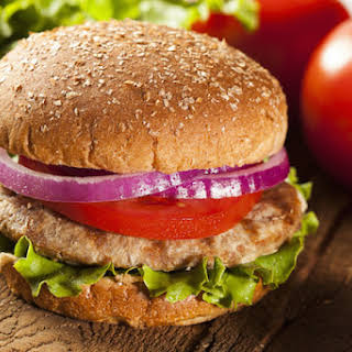 Ultimate Juicy Turkey Burger.