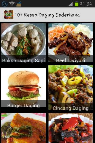 10+ Resep Daging Sederhana