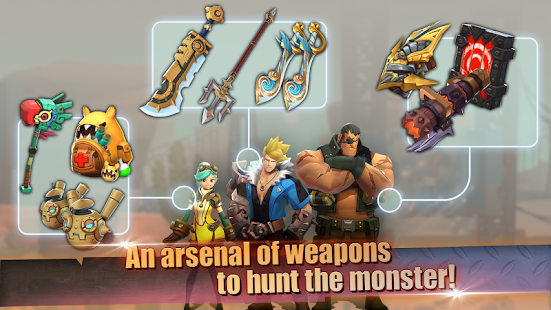 Hunters League : The story of weapon masters- screenshot thumbnail