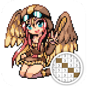 Monster Girl Color By Number Art Maker