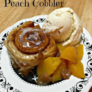 Eezy Peezy Peachy Cobbler