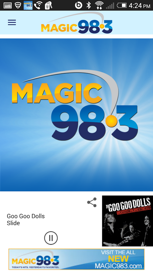 Magic 98.3- screenshot