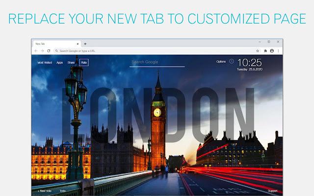 London Wallpaper HD London City New Tab