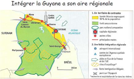 carte des territoires ultramarins français Chapitre 2   Les territoires ultra marins français : une