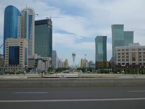 Photo: Nově postavené centrum - bulvár Nurzhol