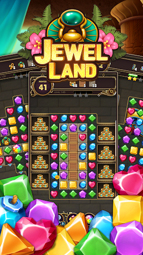 Jewel Land : Match Masters 1.0.1 Mod screenshots 2