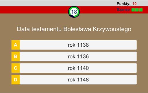 Historia polski quiz