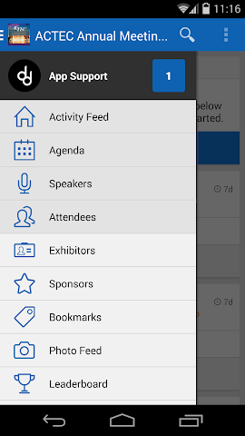 android ACTEC 2016 Annual Meeting Screenshot 1